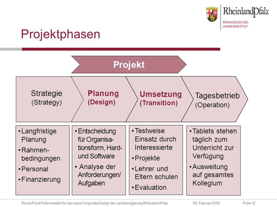 Folie 12PowerPoint-Folienmaster für das neue Corporate Design der Landesregierung Rheinland-Pfalz09.