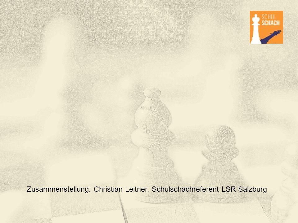 """Schulschach """"Schulschach ist in Österreich auf dem falschen Weg gerade an Volksschulen Volkschul- und Hortpädagoginnen trauen sich Schach nicht zu, weil sie das falsche Bild von Schach im Kopf haben Für das Bildungssystem könnte ein nicht auf Vereins- und Turnierschach sondern auf die breite Vermittlung von Kompetenzen und auf inklusive Begabungsförderung ausgerich- tetes Schulschach gerade an Volksschulen einen bedeutsamen Beitrag leisten."""