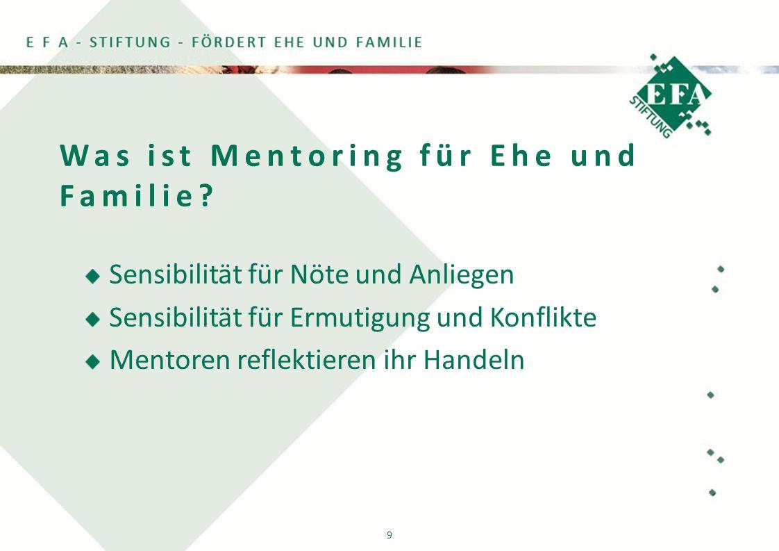 9 Was ist Mentoring für Ehe und Familie.