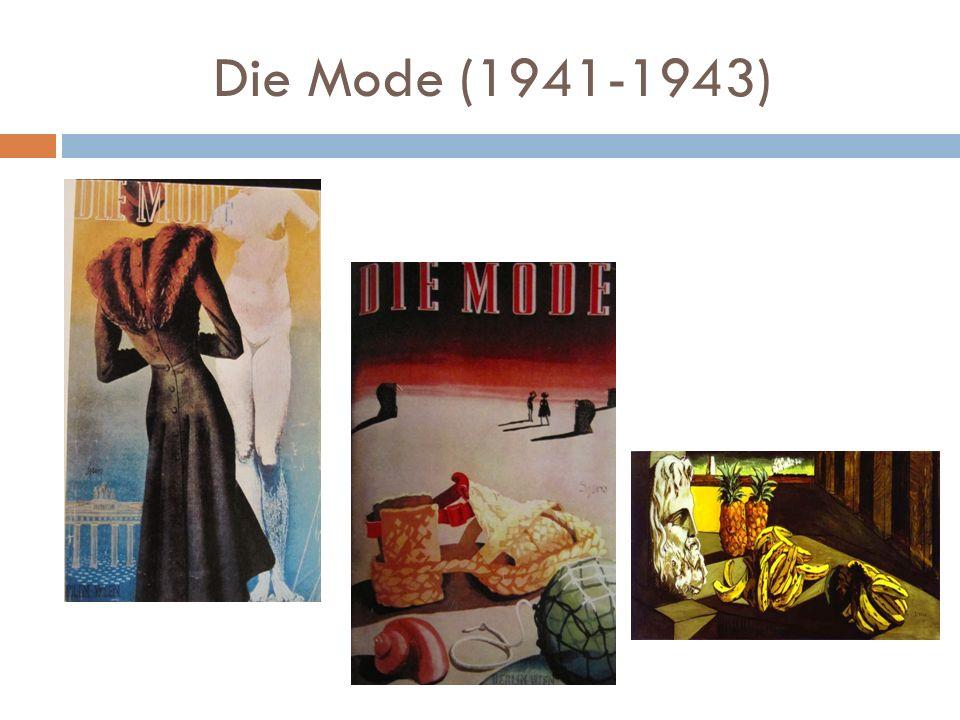 Die Mode (1941-1943)