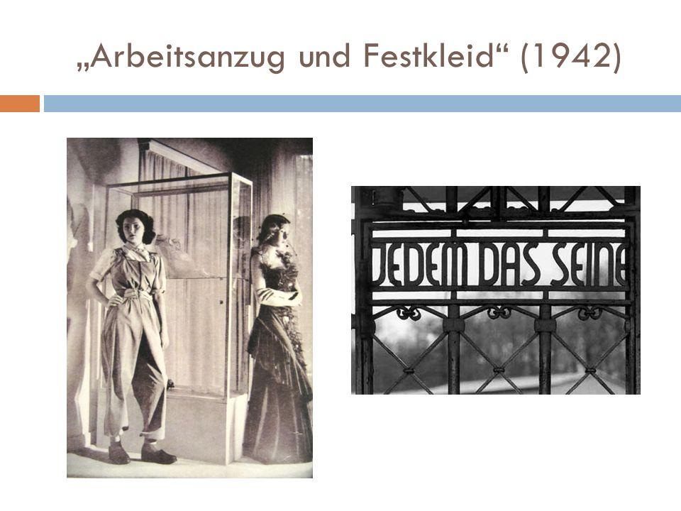 """""""Arbeitsanzug und Festkleid (1942)"""