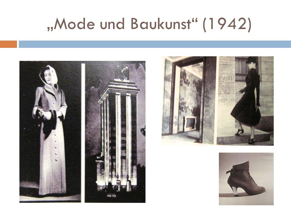 """""""Mode und Baukunst"""" (1942)"""