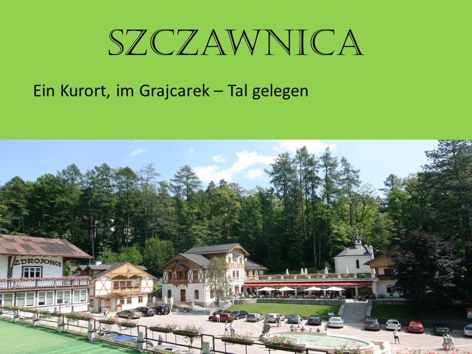 Szczawnica Ein Kurort, im Grajcarek – Tal gelegen