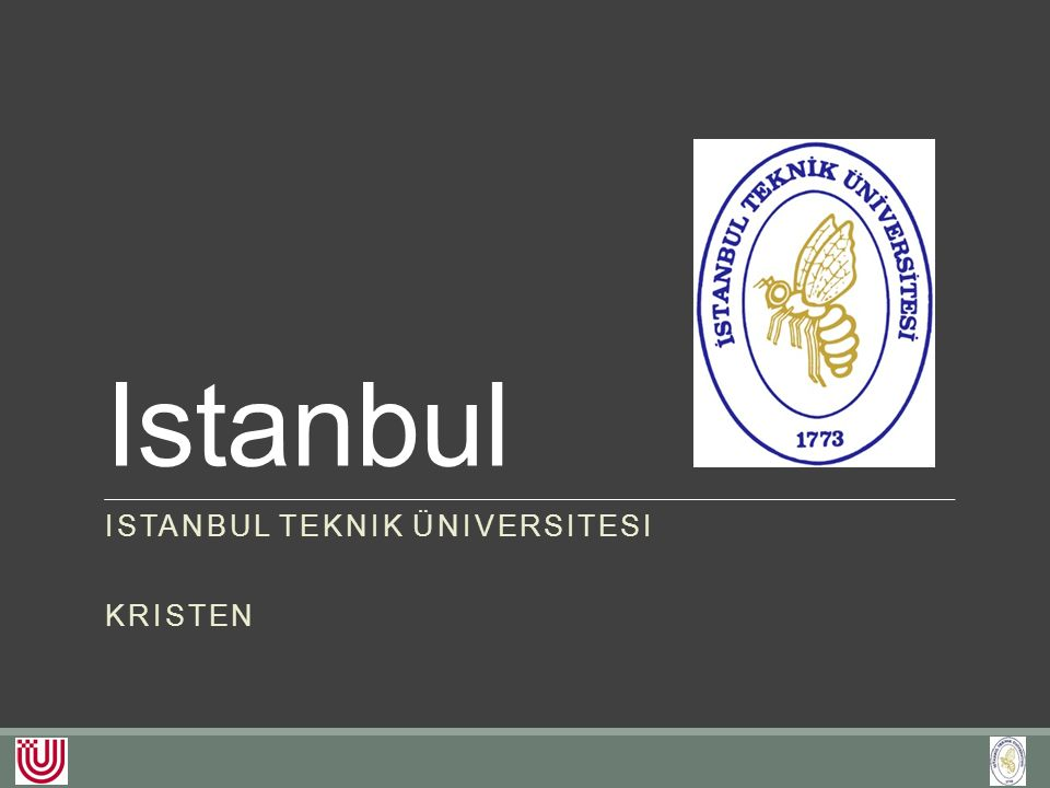 Studium an der ITÜ Geophysical Engineering Mining Engineering Petroleum and Natural Gas Engineering Mineral Processing Engineering Geological Engineering