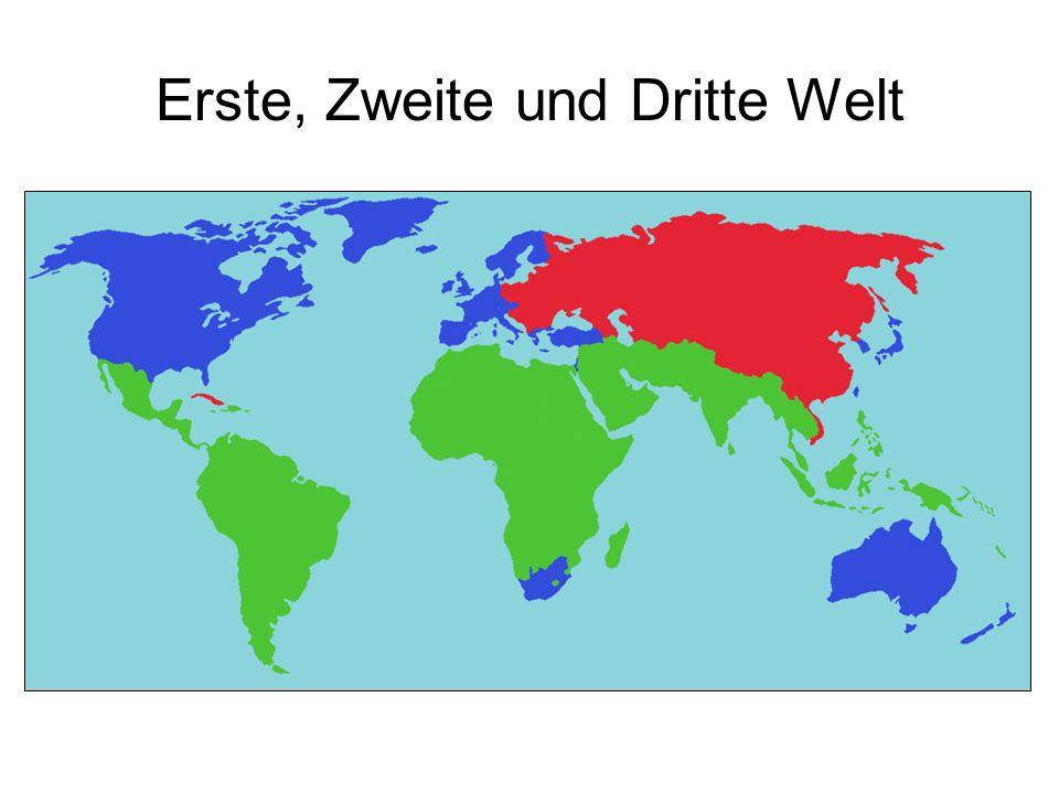 Erste, Zweite und Dritte Welt