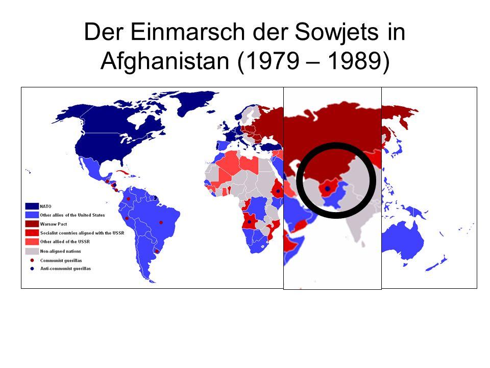 Der Einmarsch der Sowjets in Afghanistan (1979 – 1989)