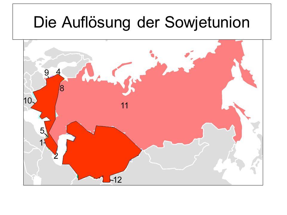 Die Auflösung der Sowjetunion