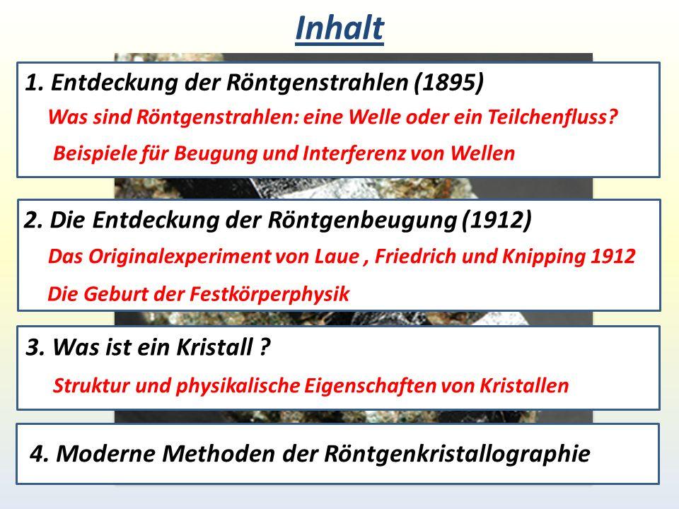 1895: Entdeckung der Röntgenstrahlen Wilhelm Conrad Röntgen Neuer Strahlungstyp, kann leicht ein Matrialen durchdringen.