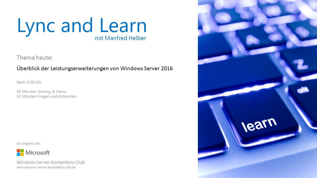 Windows Server Kompetenz Club
