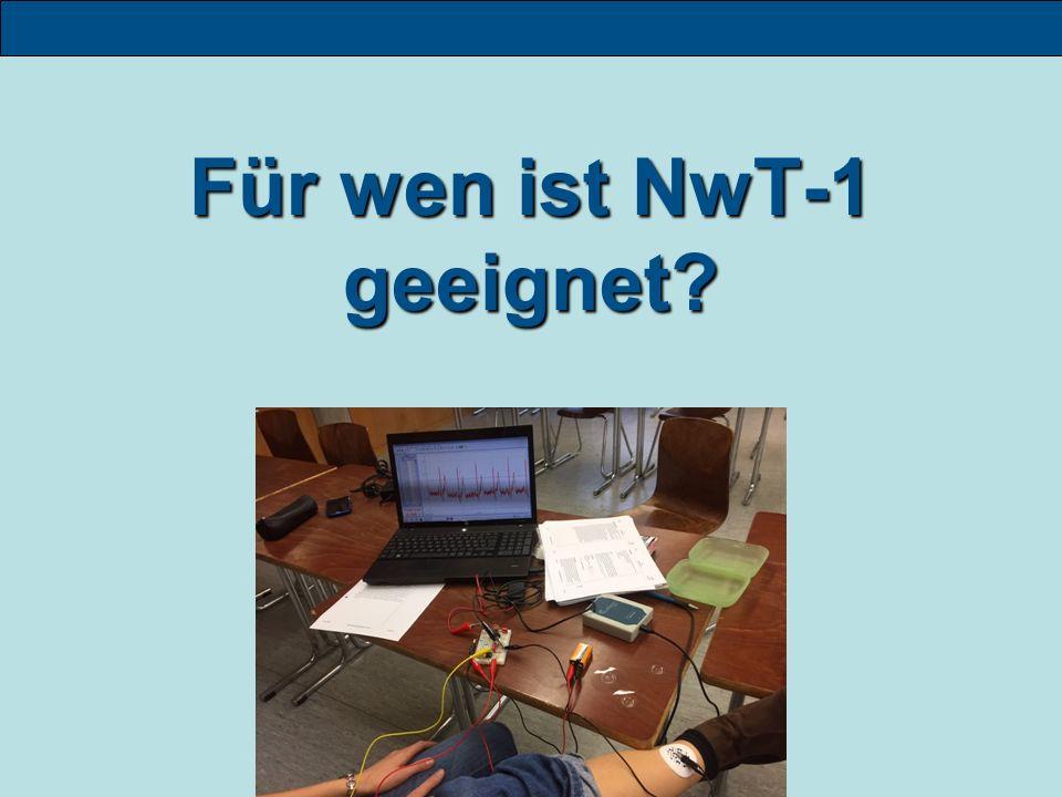 Für wen ist NwT-1 geeignet