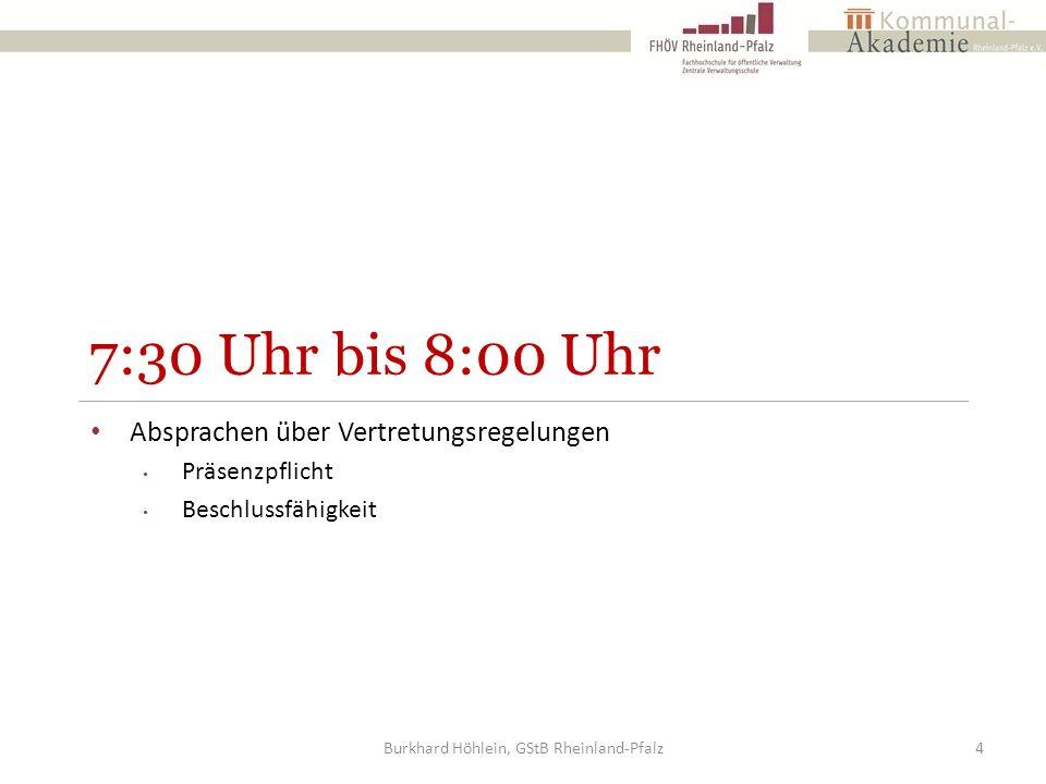 Mehrheitswahl ohne Wahlvorschlag Aussonderung der Stimmzettel die keine Kennzeichnung oder offensichtlich ungültige Stimmabgaben enthalten Anlass zu Bedenken geben Erfassung der übrigen Stimmzettel Erfassung der Stimmzettel, die keine Kennzeichnung oder offensichtlich ungültige Stimmabgaben haben Burkhard Höhlein, GStB Rheinland-Pfalz95
