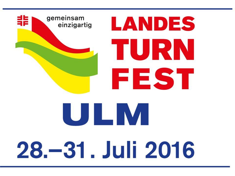 Landesturnfest Im Jahr 2016 wird zum achten Mal ein baden- württembergisches Turnfest in Ulm gefeiert.