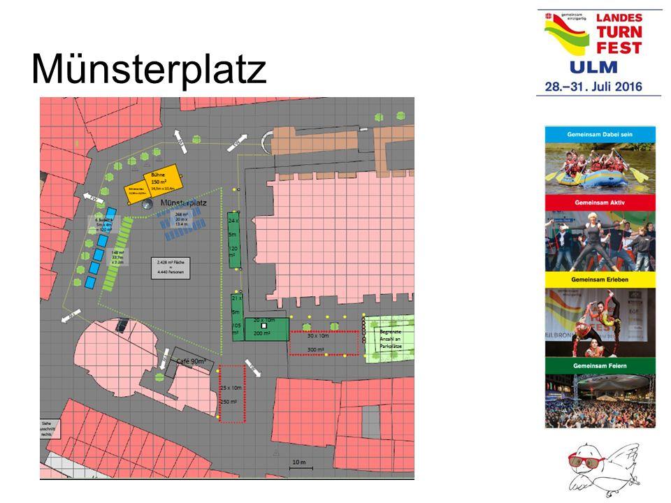 Teilnehmer Beförderung Turnfestlinie/Linienverkehr SWU Die Teilnehmer/-innen können mit der Festkarte den ÖPNV in Ulm nutzen.