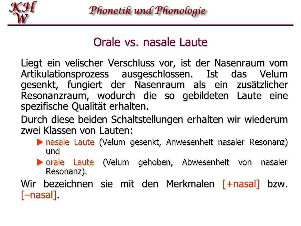 Orale vs.