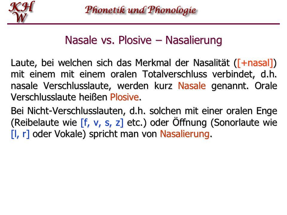 Nasale vs.