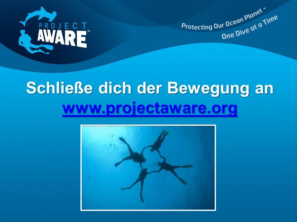 Schließe dich der Bewegung an www.projectaware.org www.projectaware.org