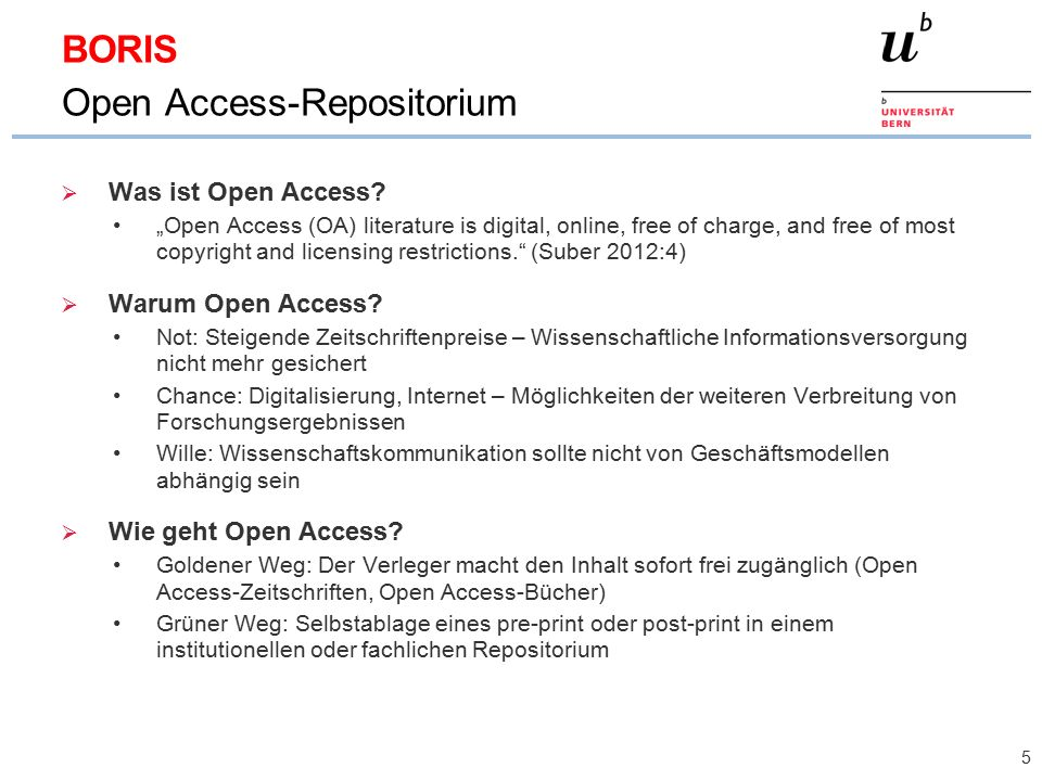  Was ist Open Access.