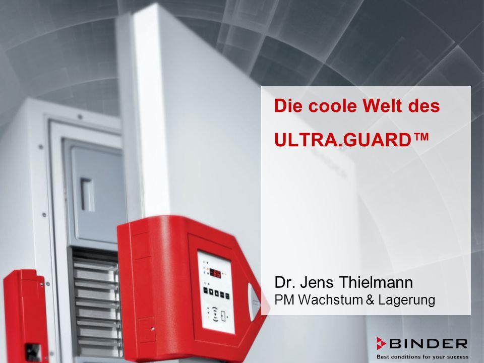 ULTRA.GUARD™ UF-V Series -86°C Ultra-Low Temperature Freezers Februar 2014 STRICTLY CONFIDENTIAL - FOR COMPANY USE ONLY 72 6.24Wasserkühlung Maximierung der Bedienungsfreundlichkeit  Luftgekühlte Freezer geben Abwärme an die Umgebungsluft ab.