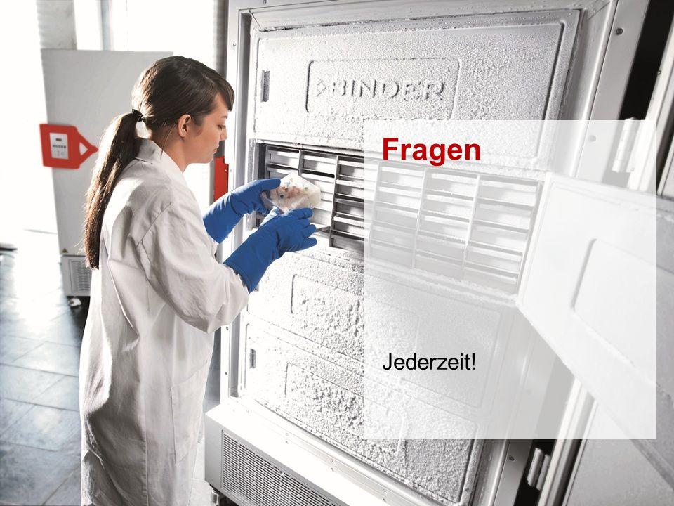 ULTRA.GUARD™ UF-V Series -86°C Ultra-Low Temperature Freezers Februar 2014 STRICTLY CONFIDENTIAL - FOR COMPANY USE ONLY 65 6.15100 % nicht brennbares Kältemittel Maximierung der Prozesssicherheit UF V Serie  Zweistufiges Kühlsystem mit hermetisch gedichteten Kompressoren  1.