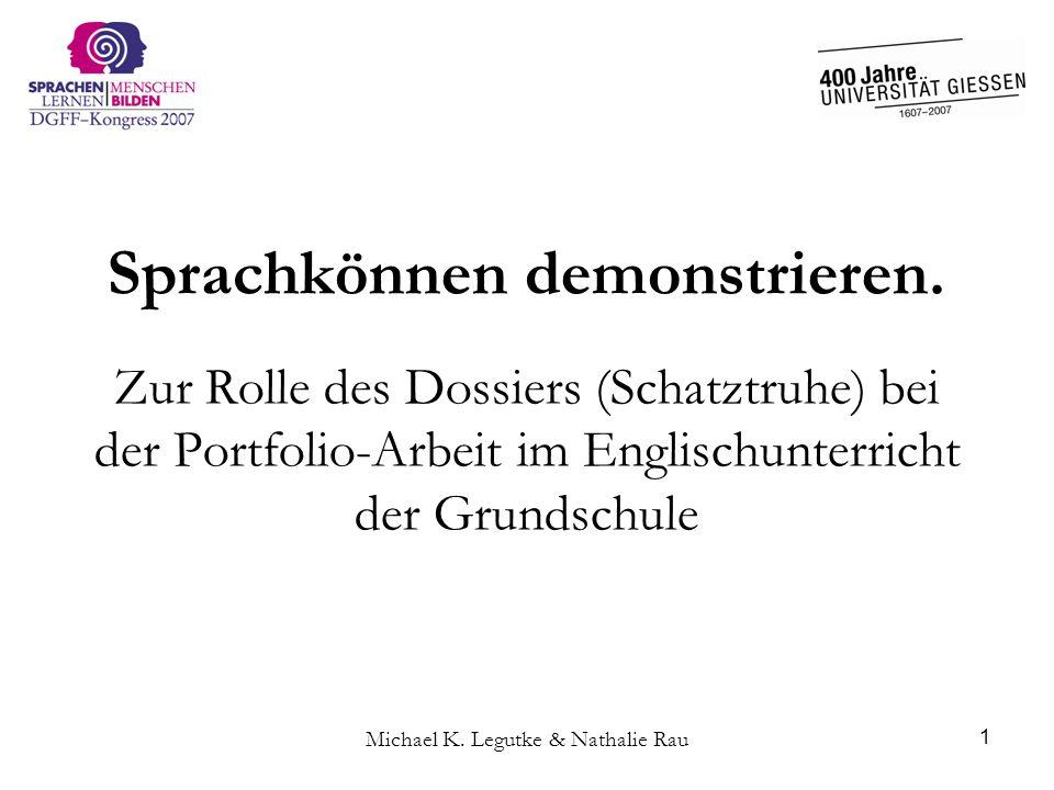 Michael K. Legutke & Nathalie Rau 12