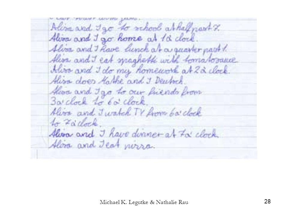 Michael K. Legutke & Nathalie Rau 28