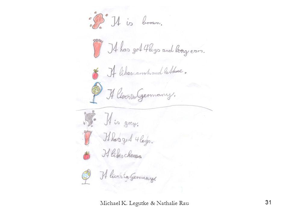 Michael K. Legutke & Nathalie Rau 31