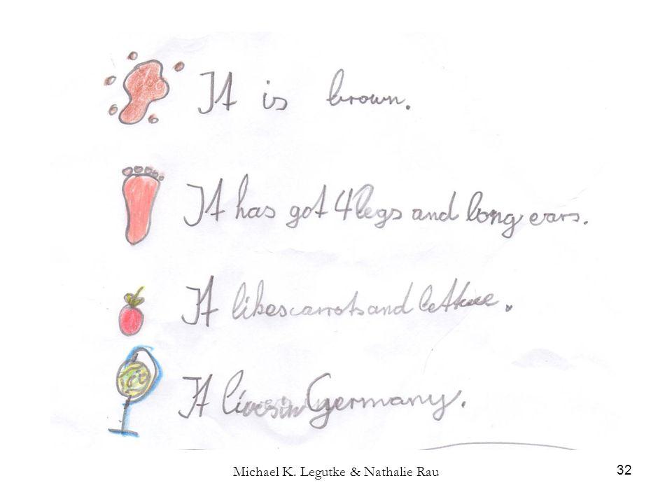 Michael K. Legutke & Nathalie Rau 32