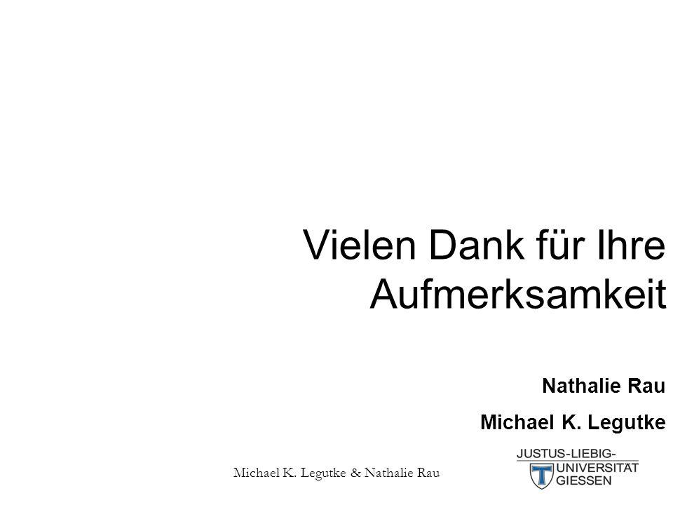 Michael K. Legutke & Nathalie Rau 43 Vielen Dank für Ihre Aufmerksamkeit Nathalie Rau Michael K.