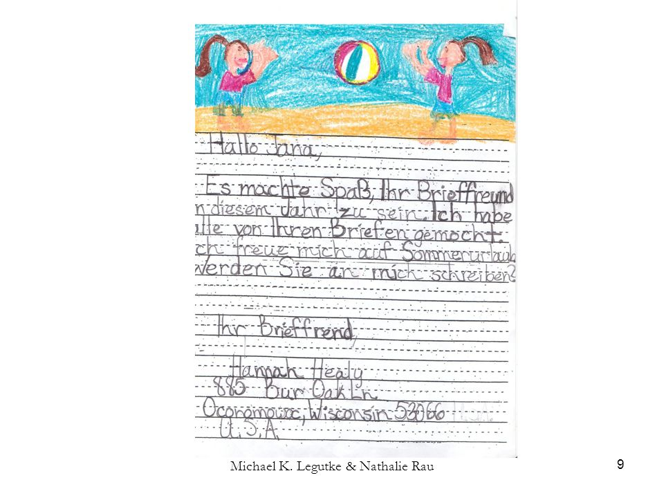 Michael K.Legutke & Nathalie Rau 30 4.