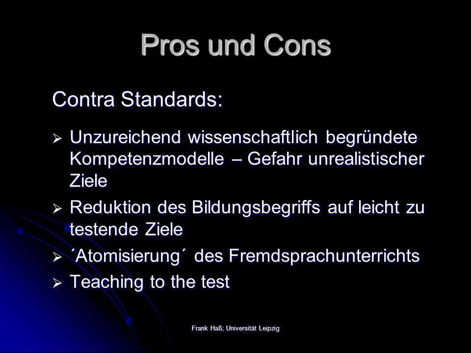 Frank Haß; Universität Leipzig Was ist Fremdsprachendidaktik.