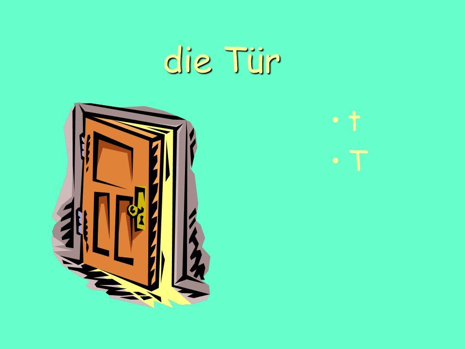 die Tür t T