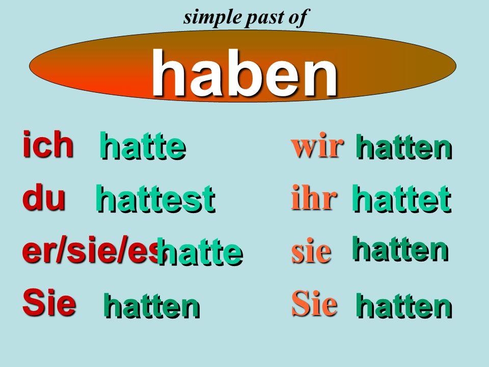 Complete the sentences… Ich ….(sein) Müde und ich …..(schlafen).