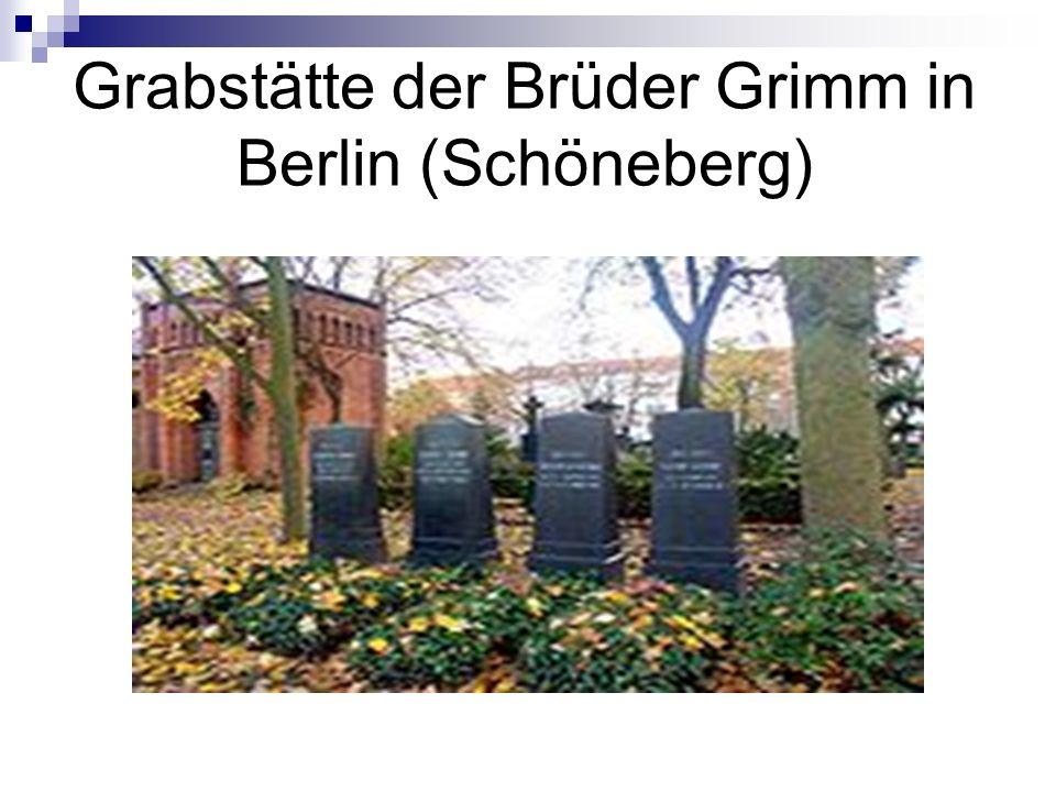Grabstätte der Brüder Grimm in Berlin (Schöneberg)