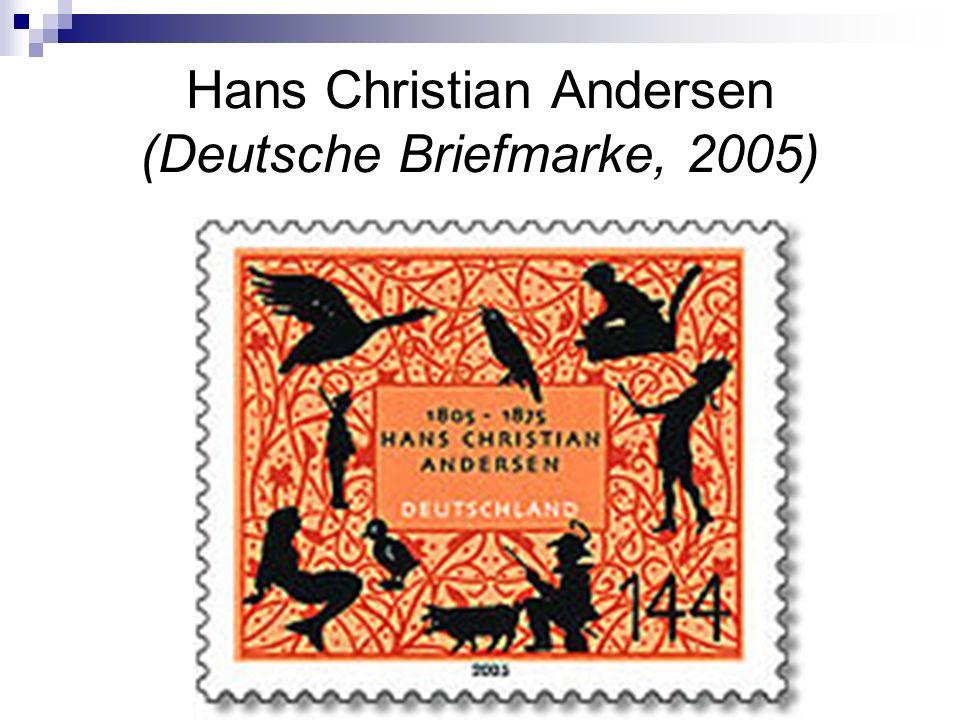 Hans Christian Andersen (Deutsche Briefmarke, 2005)