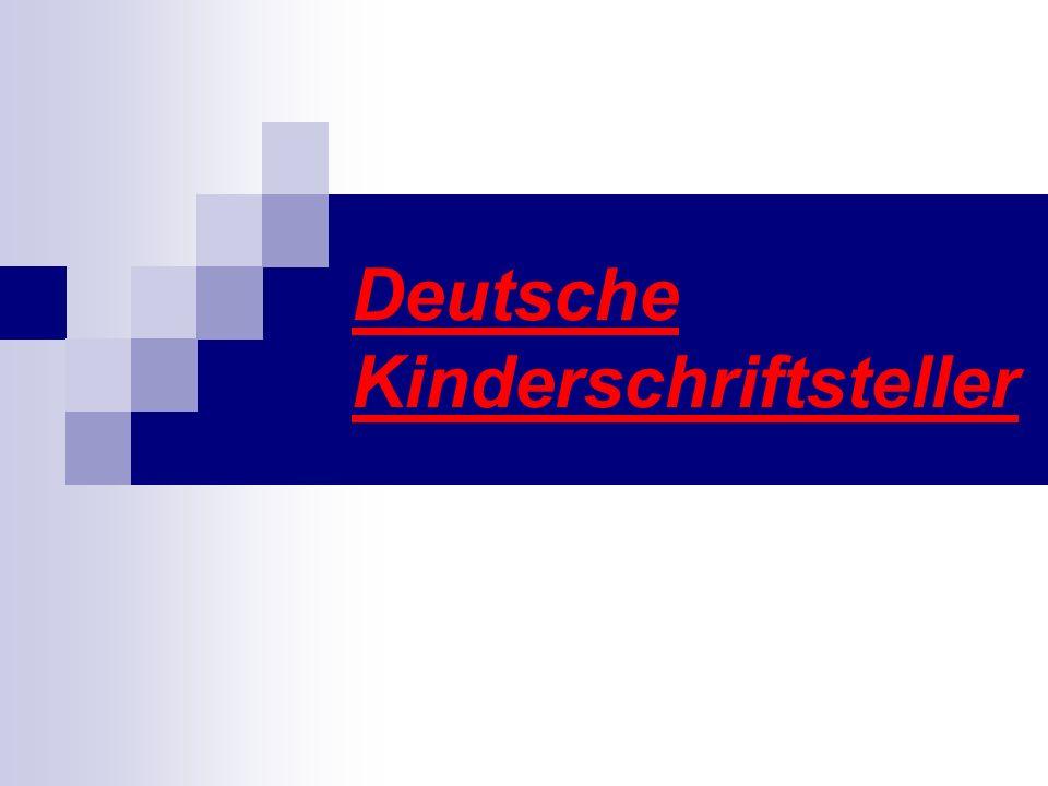Deutsche Kinderschriftsteller