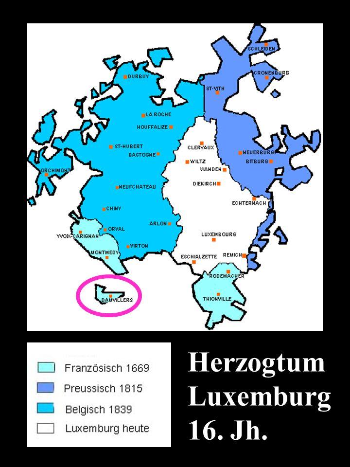 Herzogtum Luxemburg 16. Jh. http://genhames.free.fr/frontiereslux.htm