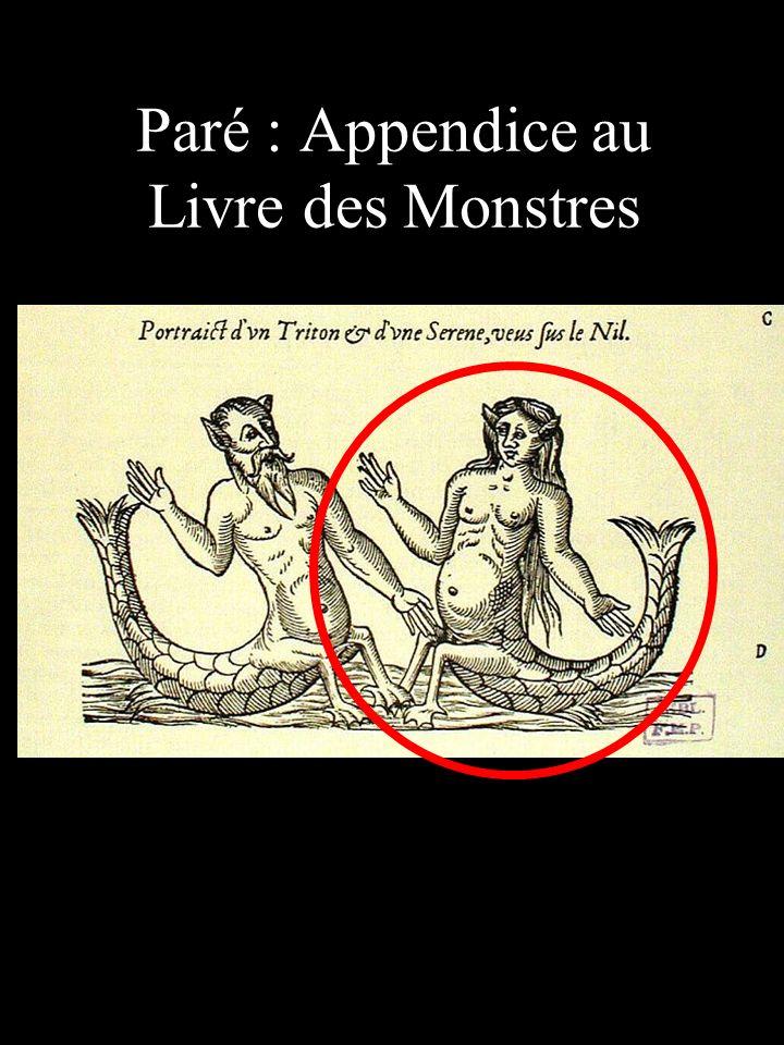 Paré : Appendice au Livre des Monstres