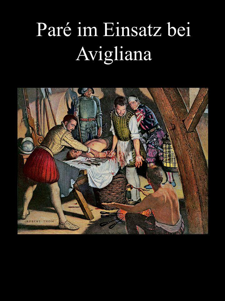 Paré im Einsatz bei Avigliana