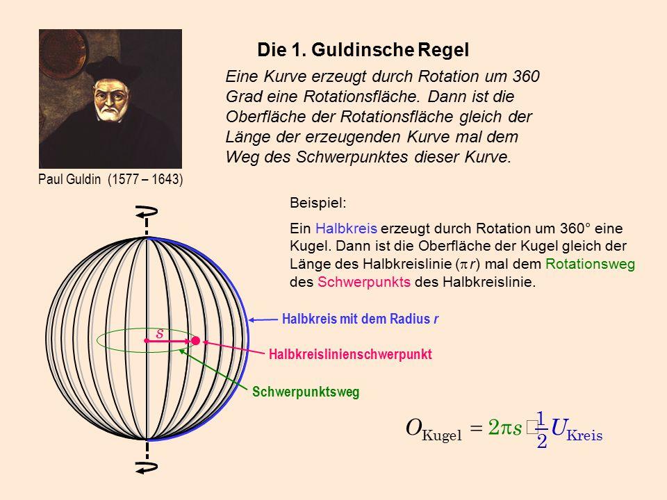 Paul Guldin (1577 – 1643) Die 1.