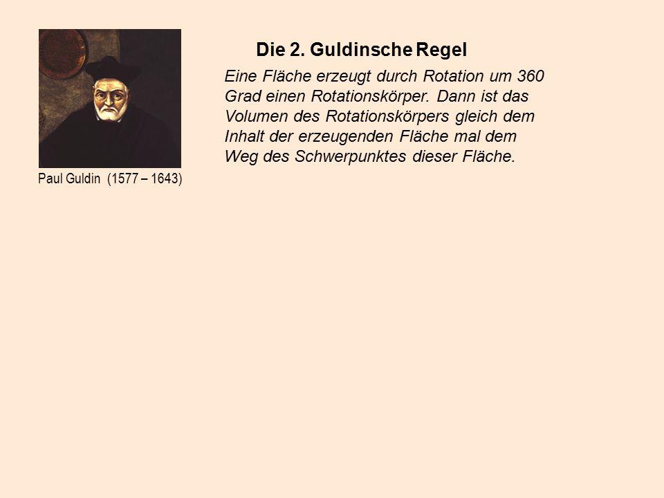 Paul Guldin (1577 – 1643) Die 2.