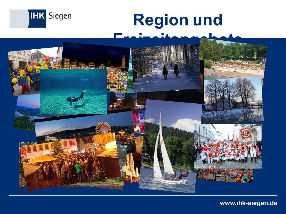www.ihk-siegen.de Region und Freizeitangebote