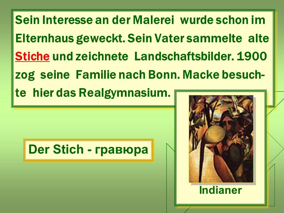 Beantworten Sie die Fragen:  Was besuchte er in Düsseldorf.