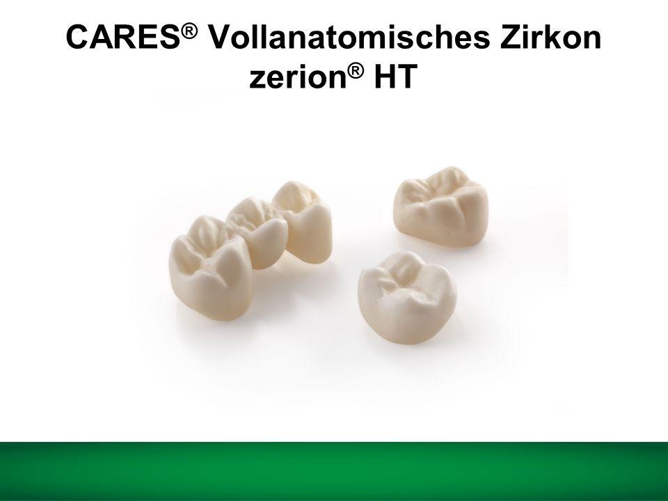 CARES ® Vollanatomisches Zirkon zerion ® HT