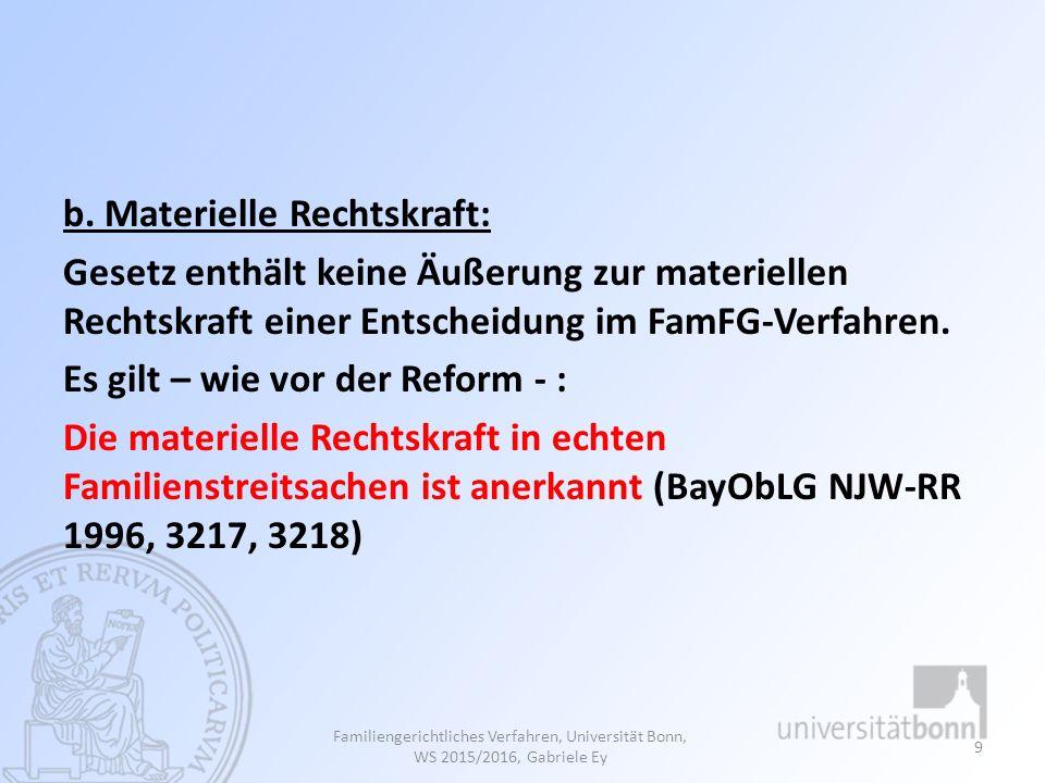 Allgemeines Vorläufige Maßnahme Keine einstweiligen Verfügungen im Anwendungsbereich des FamFG Unterhaltsarrest (§ 119 Abs.