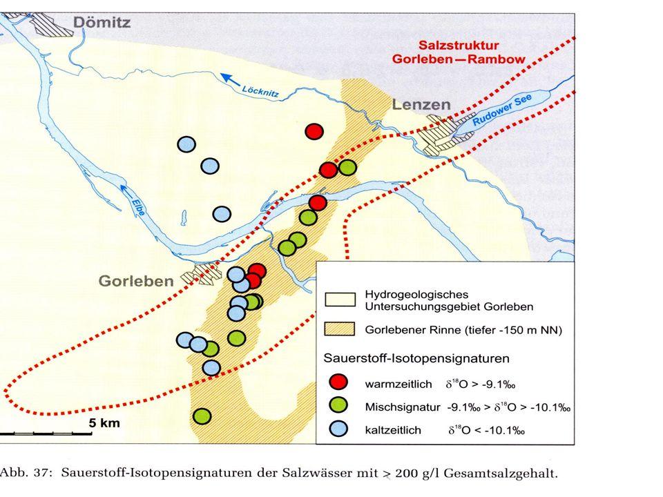 Geowissenschaftliche Kriterien (Stand 29.12.2015) – AKEnd und Ist-Zustand Salzstock Gorleben Im Inneren ist die Luft, die wir vor dem Entweichen schützen müssen.