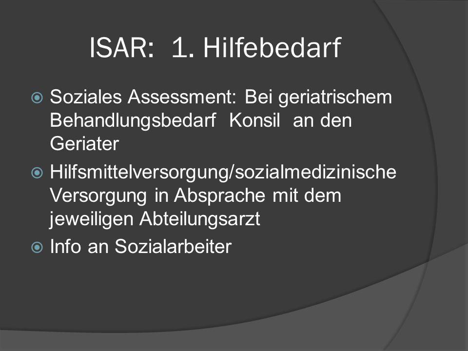 ISAR: 1.