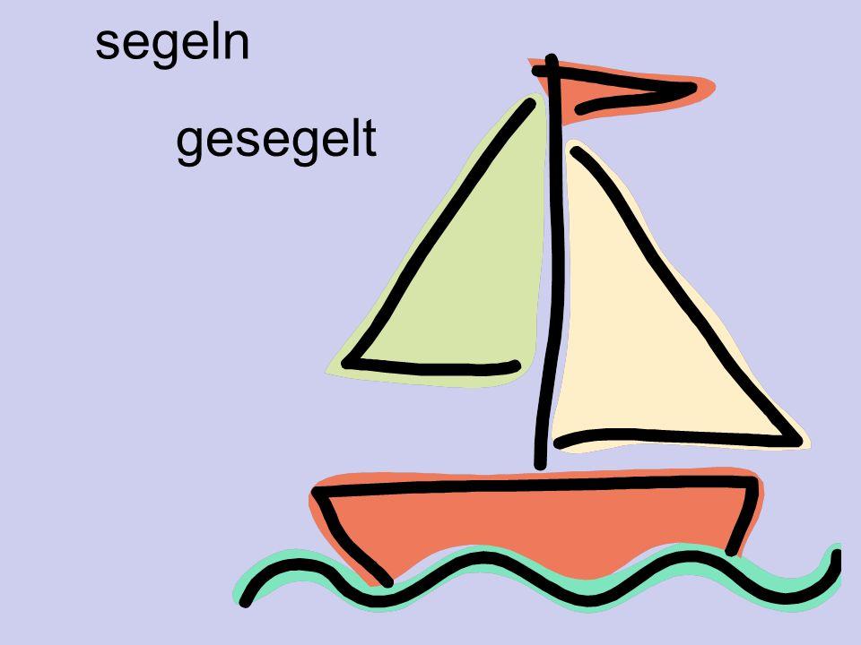 segeln gesegelt