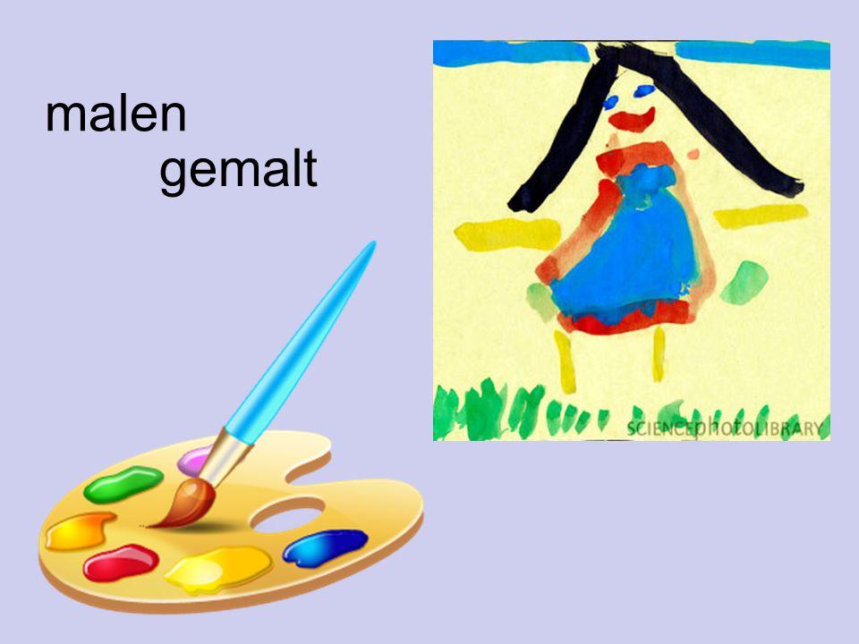malen gemalt