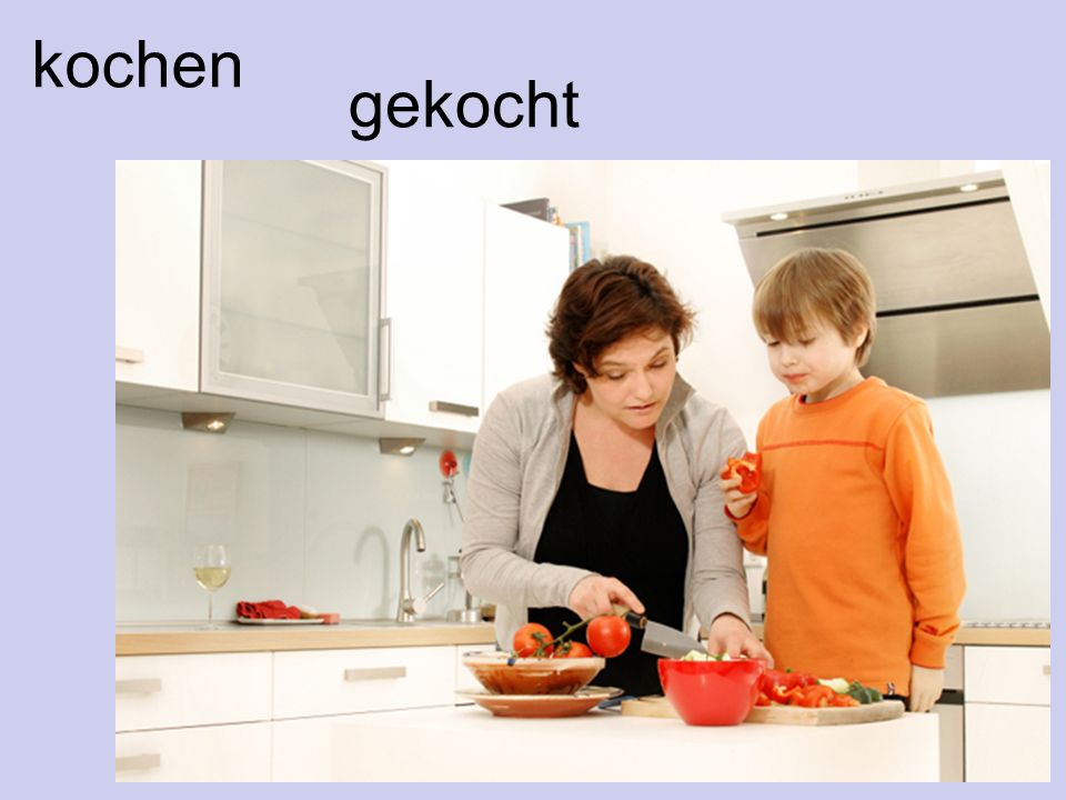 kochen gekocht