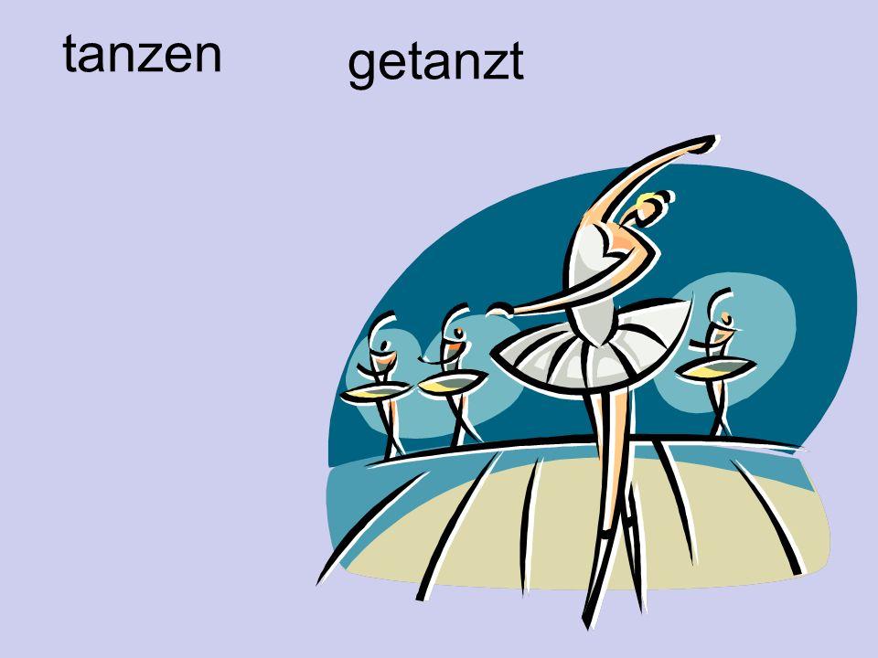 tanzen getanzt